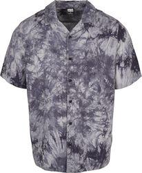 Tye Dye Viscose Resort Shirt
