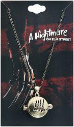 Nightmare on Elmstreet Freddy Claw Locket