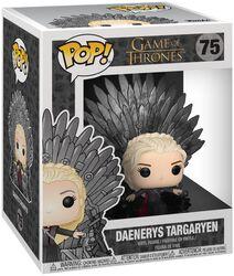 Daenerys Targaryen Iron Throne (POP Deluxe) Vinyl Figure 75