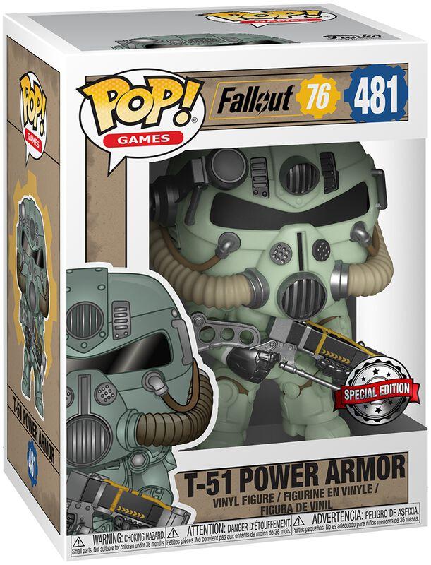 76 - T-51 Power Armor Vinyl Figure 481
