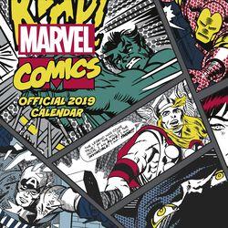 Wandkalender 2019 - Comics Classics