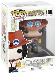 Portgas D. Ace Vinyl Figure 100
