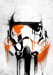Displate (Bansky) Stormtrooper