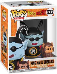 Z - King Kai and Bubbles Vinyl Figure 532
