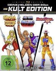 He-Man + She-Ra + BraveStarr 80er Jahre Kult Zeichentrick Edition - Special Gesamtedition
