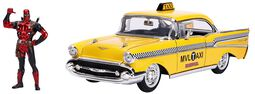 Automodell inkl. Figur - Taxi (1/24)