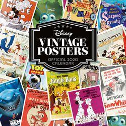 Wandkalender 2020 - Vintage Posters