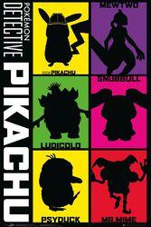 Detective Pikachu - Silhouette