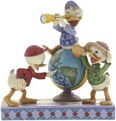 Navigating Nephews (Huey, Dewie and Louie Figurine)