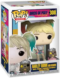 Harley Quinn and Beaver Vinyl Figure 308