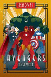 Marvel Deco - Avengers