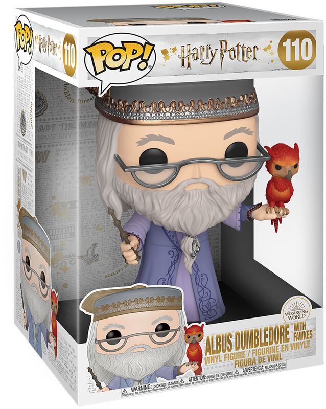 Dumbledore With Fawkes (Life Size) Vinyl Figur 110
