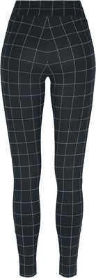 Ladies Check High Waist Leggings