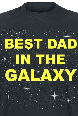 Family & Baby Best Dad In The Galaxy