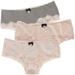 3er Set Hipster Pants