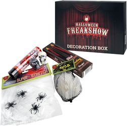 Halloween Freakshow Dekoration Box