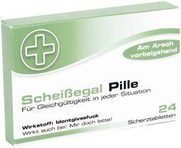 Scherztabletten Scheißegal Pille