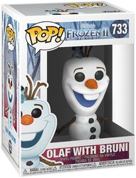 2 - Olaf With Bruni Vinyl Figur 733