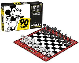 Mickey*s 90th Anniversary - Schachspiel Collector's Set Mickey