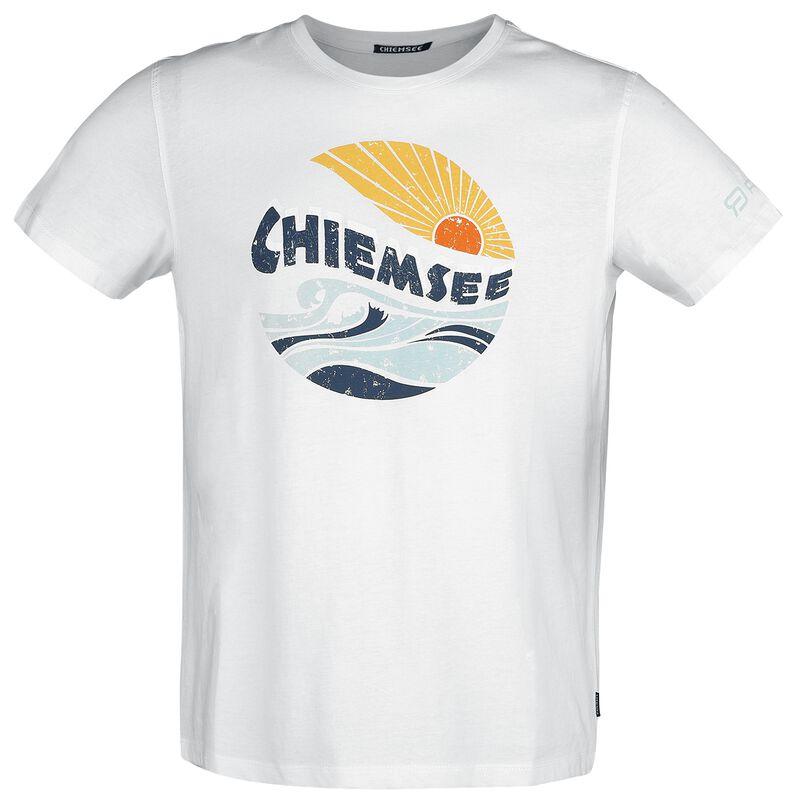 RED X CHIEMSEE - weißes T-Shirt mit Print